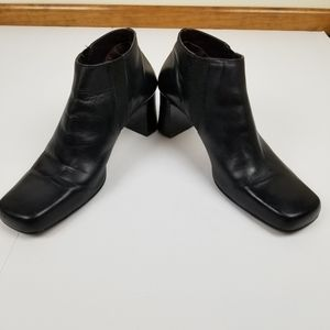 Kenneth Cole Reaction ankle boots black leather